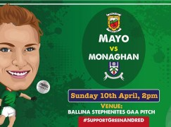 Mayo Ladies V's Monaghan in Ballina Stephenites