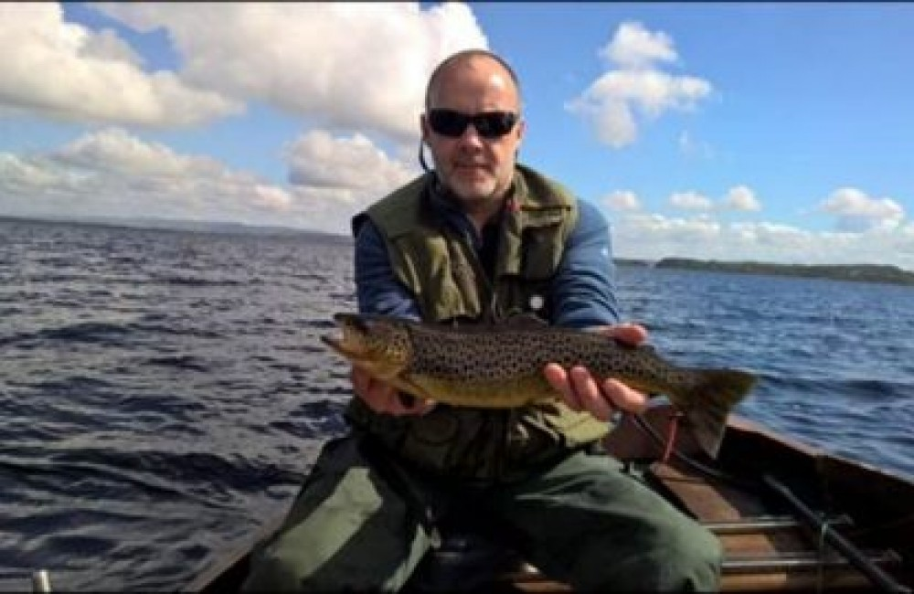This nice 2 ½ pounder caught by Dominic Conlon at Massbrook, fell to a Green Peter