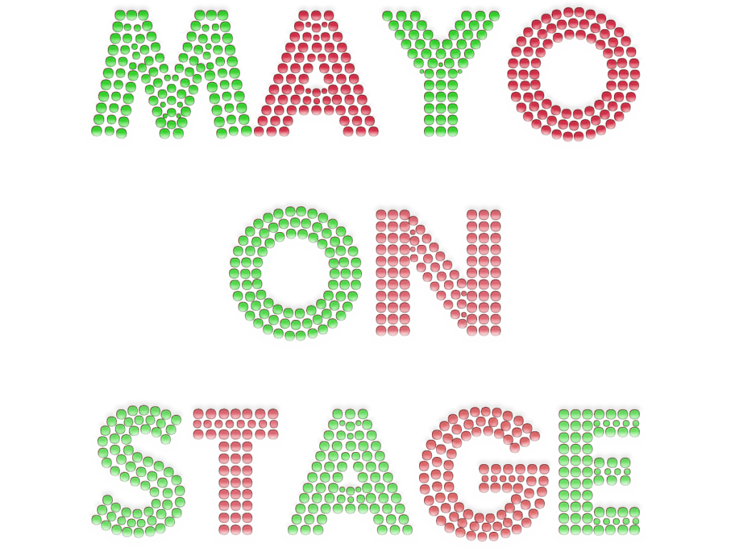 Mayo on Stage 29th April from 12-3pm in Ballina's Military Barracks