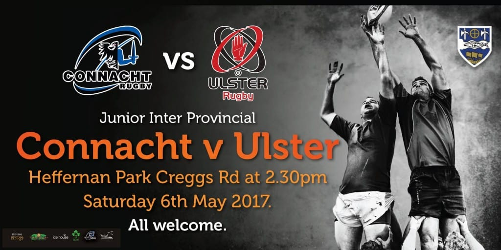 Connacht Rugby v Ulster  6th May in Ballina Co Mayo