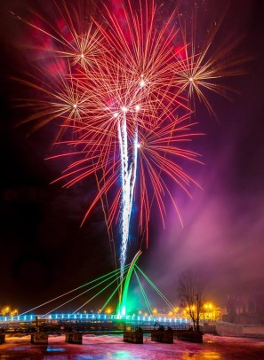 Blast of Colour to light up the Sky  in Ballina this Weekend