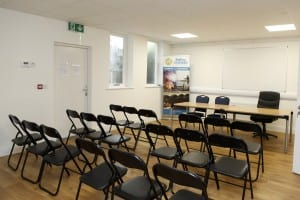 Board room at Ballina Tourist and Chamber Offixce, Pearse St, Ballina Co Mayo