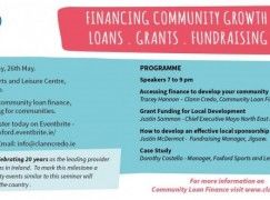 Financing Community Growth – Loans, Grants, Fundraising