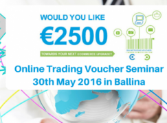 Trading On Line Voucher Seminar – Ballina 30th May