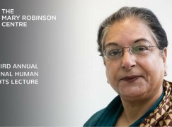Ballina welcomes Hina Jilani to Mary Robsinson Centres' Third Annual International Human Rights Lecture