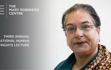 Ballina welcomes Hina Jilani to Mary Robsinson Centres' Third Annual International Human Rights Lecture