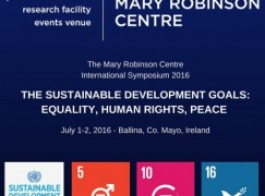 Mary Robinson Centre promotes Sustainable Development Goals this July in Ballina