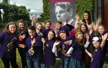 Mr Yeats return visit to Killala, Co Mayo