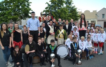 Lord of the Dance star launches 2016 MMTradfest in Ballina