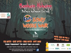 Be scared at this years Samhain Abhainn Festival in Ballina