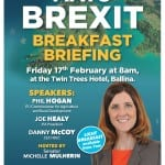 Brexit Breakfast Briefing in Ballina