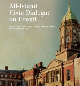 2. All –island Civic Dialogue on Brexit – Report