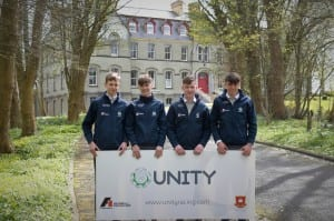 Unity Racing, a Formula One in Schools team from St. Muredach's College, Ballina