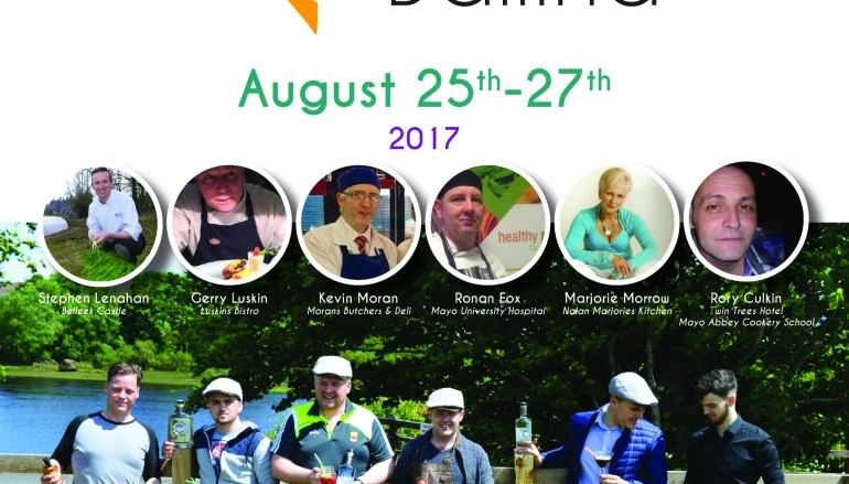 Food Fleadh Ballina returns 25th- 26th-27th August 2017