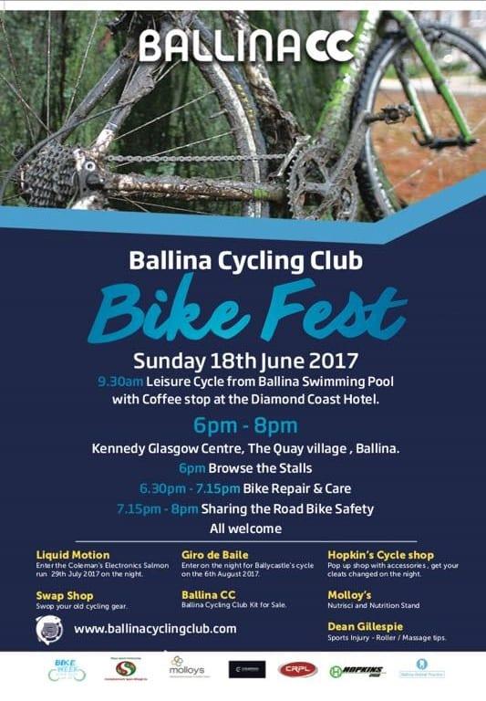 Ballina Cycling Club Bike Fest 2017