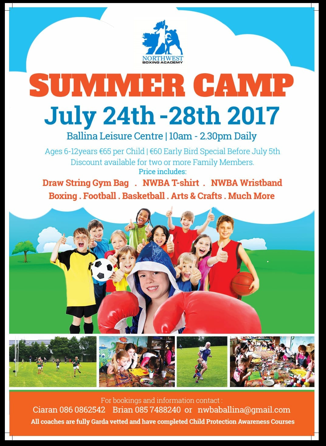 Keep the Kids Busy this Summer in Ballina   Ballina ie