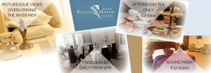 Ballina Manor Hotel, Ballina Co Mayo along the Wild Atlantic Way