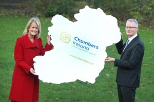 Chambers Ireland President Niamh Boyle and Chief Executive Ian Talbot.._
