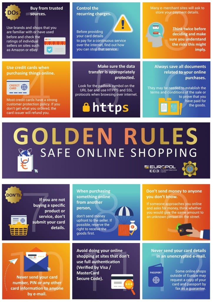 Golden Rules Safe Online ShoppingSafe Online Shopping And