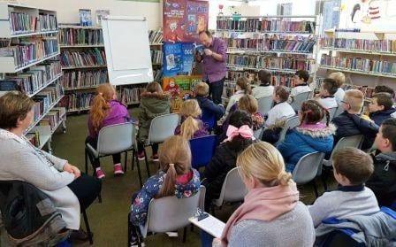 Alan Nolan author Áthas Childrens festival