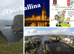Ballina celebrates Mayo Day 2018 with a big splash of Green and Red