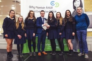 St Marys Secondary School Ballina wins Mayo County Student Enterprise Awards