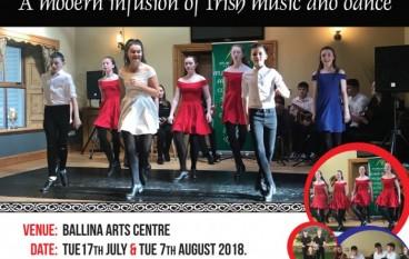 Atlantic Rhythm brings 'TradBeats' to Ballina along the Wild Atlantic Way