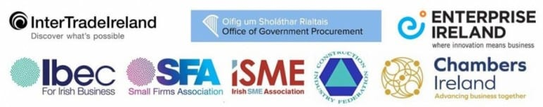 InterTradeIreland in partnership with the Office of Government Procurement, Enterprise Ireland, Ibec, SFA, ISME, CIF and Chambers Ireland