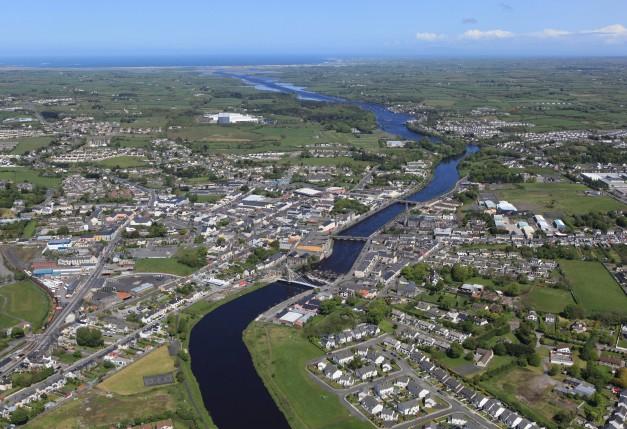 N26 Roadworks into Ballina Co Mayo