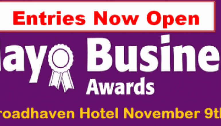 2018 Mayo Business Awards Applications are now OPEN