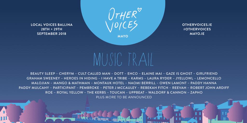 Ballina Music Trail LOCAL VOICES