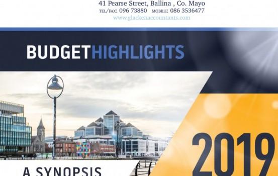 Budget Highlights 2019
