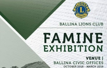 Famine Exhibition opens in Ballina Co. Mayo on Ireland's Wild Atlantic Way