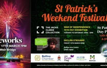 St Patricks Day and Weekend festivities in Ballina Co Mayo