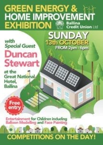 Ballina Credit Union Green Homes Exhibition 2019